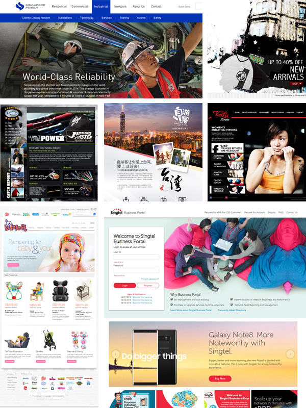 Boon Siong | Freelance UI / UX Web Designer and Developer